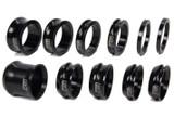 600 Wheel Spacer Kit 11 Piece Black TIP3925 Sprint Car Ti22 Performance
