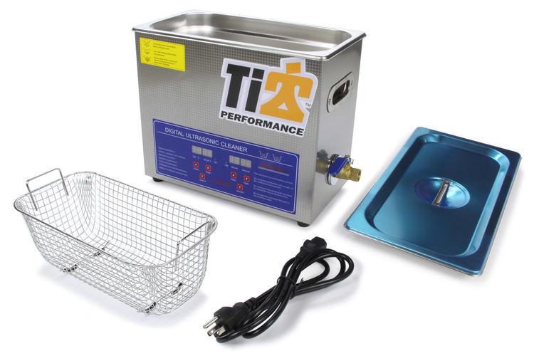 Ultrasonic Cleaner With 9in Stainless Basket TIP8580 SprintCar Ti22 Performance