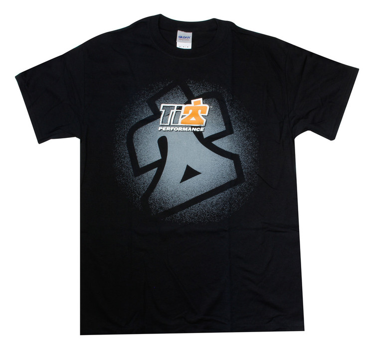 TI22 T-shirt Black Small TIP9100S Sprint Car Ti22 Performance
