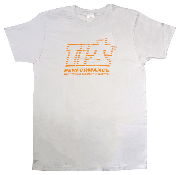 TI22 T-shirt Gray Medium  TIP9120M SprintCar Ti22 Performance