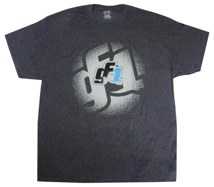 GF1 T-shirt Gray Large  TIP9251L SprintCar Ti22 Performance