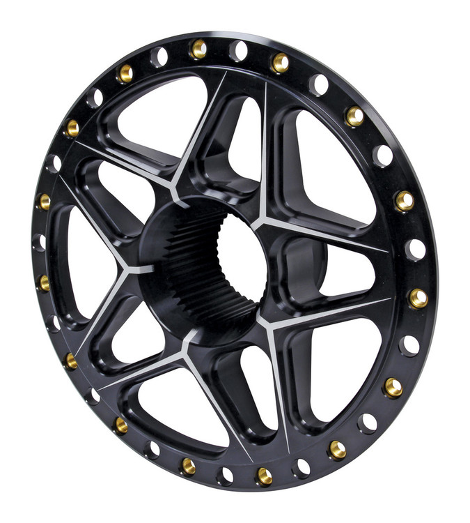 Splined Wheel Center Black TIP2890 SprintCar Ti22 Performance