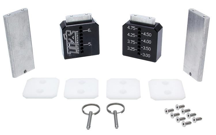 Ti22 Setup Blocks Tall Black 3in-6-1/4in TIP2981 SprintCar Ti22 Performance
