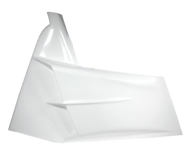 Fiberglass Passenger Side Arm Guard White TIP8304 Ti22 Performance