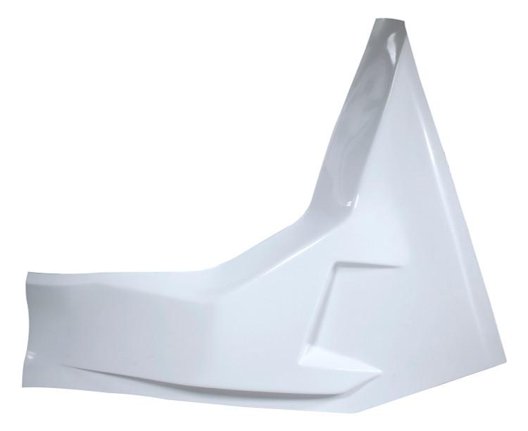 Fiberglass Driver Side Arm Guard White Ti22 Performance