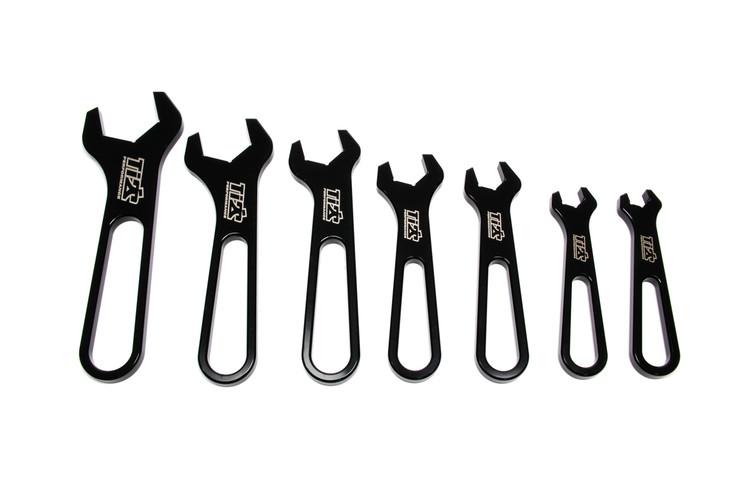 AN Wrench Set Aluminum -3 Through -16 Black TIP8530 SprintCar Ti22 Performance