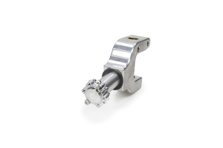 600 Front Spindle Left Polished 6061-T6 Billet TIP3520 SprintCar Ti22 Performance