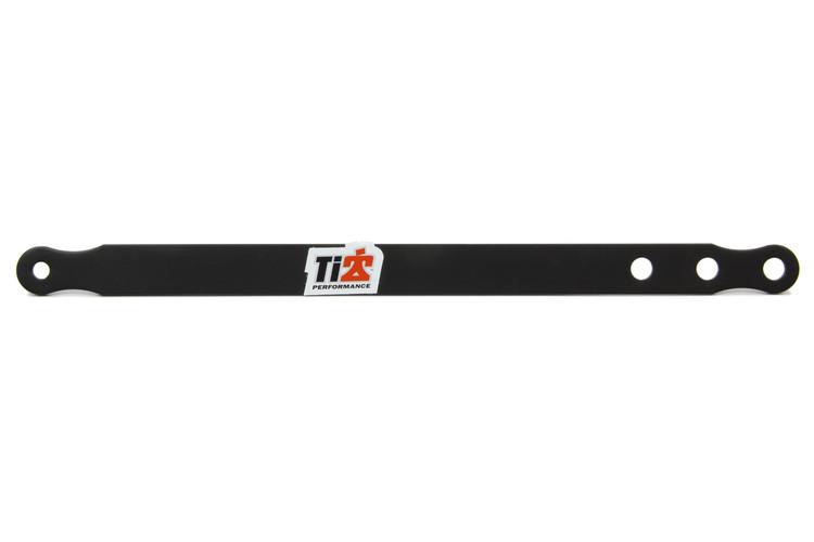 600 Alum Nose Wing Straps 11.5in Long Black TIP3781 SprintCar Ti22 Performance
