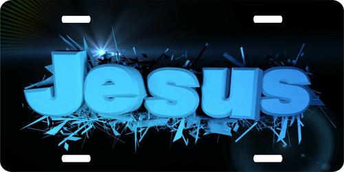 Jesus Christ Christian Cross Lord GOD License Plate Car Truck Tag