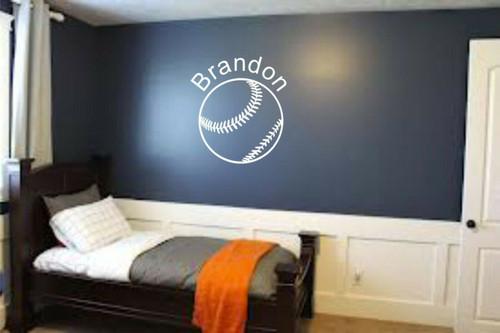 Baseball Sports Teen Kids Boys Room Wall Art Home Decor Mural Vinyl Decal
