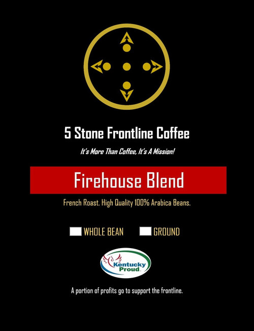 5 Stone Frontline Coffee Firehouse French Roast