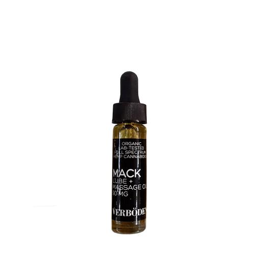 VERBÖDEN 'MACK' Massage Oil Sampler Vial