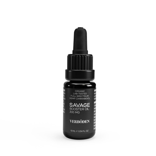 VERBÖDEN 'SAVAGE' Antioxidant Booster Oil, 10ml