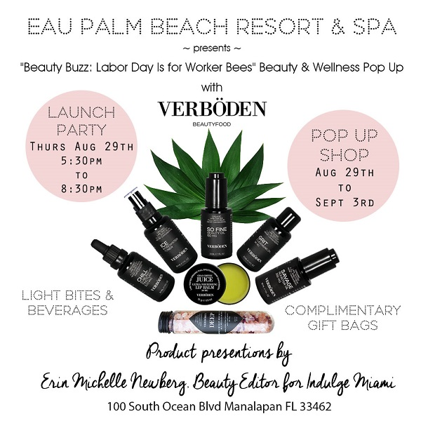 VERBÖDEN Pop-Up @ Eau Spa Palm Beach