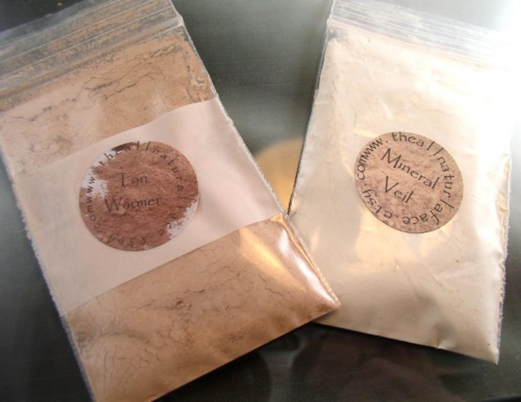 Vegan Large Refill Baggies for 30 Gram Jars of Mineral Veil