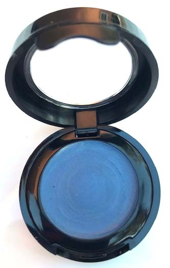Long Wear Cream Vegan Mineral Eye Shadow - Deep Steel Blue