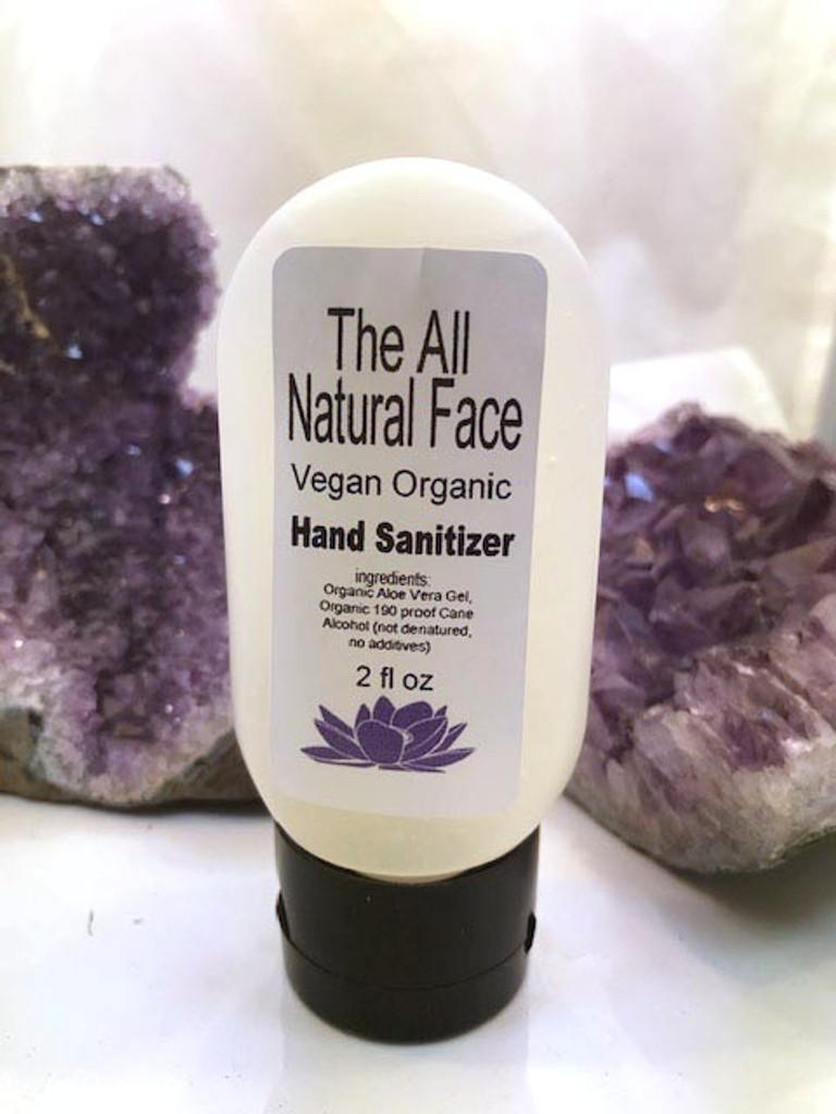 Organic Vegan Hand Sanitizer Lavender