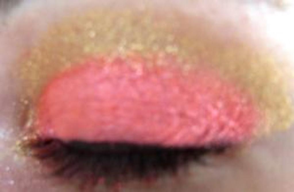 Vegan Mineral Eyeshadow - Gold Dust