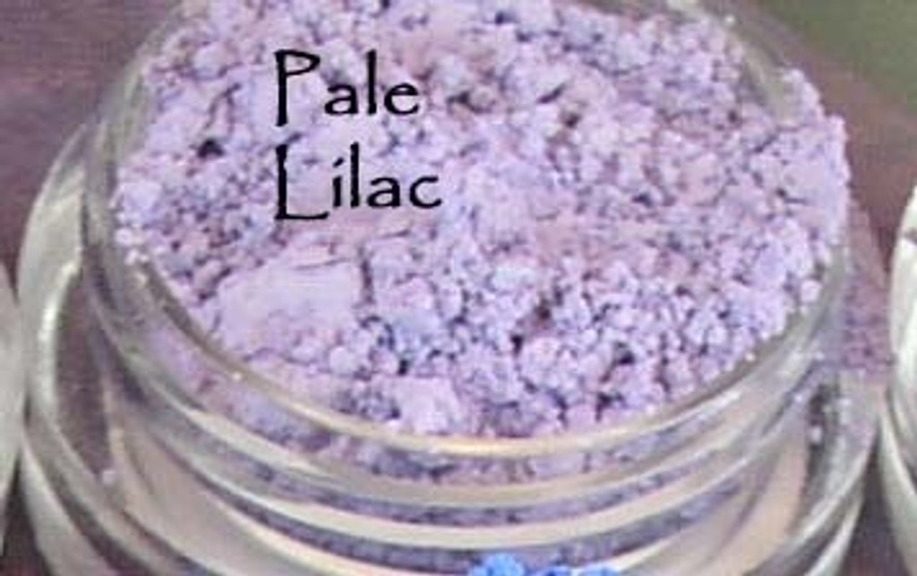 Vegan Mineral Eyeshadow - Pale Lilac