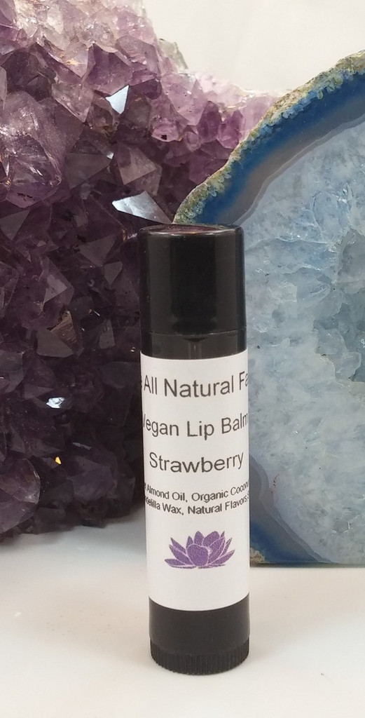 Flavor Infused Strawberry Lip Balm