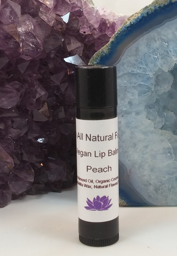 Flavor Infused Peach Lip Balm