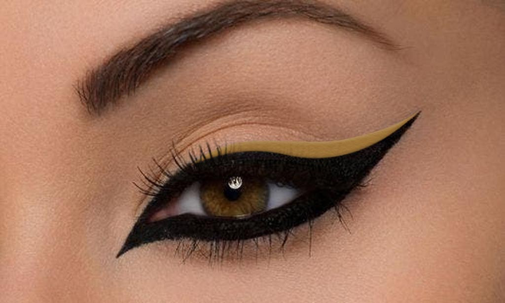 Vegan Gel Eyeliner Antique Gold