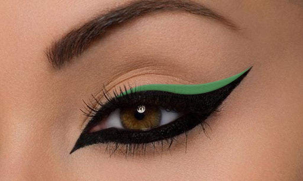 Vegan Gel Eyeliner Peacock Green