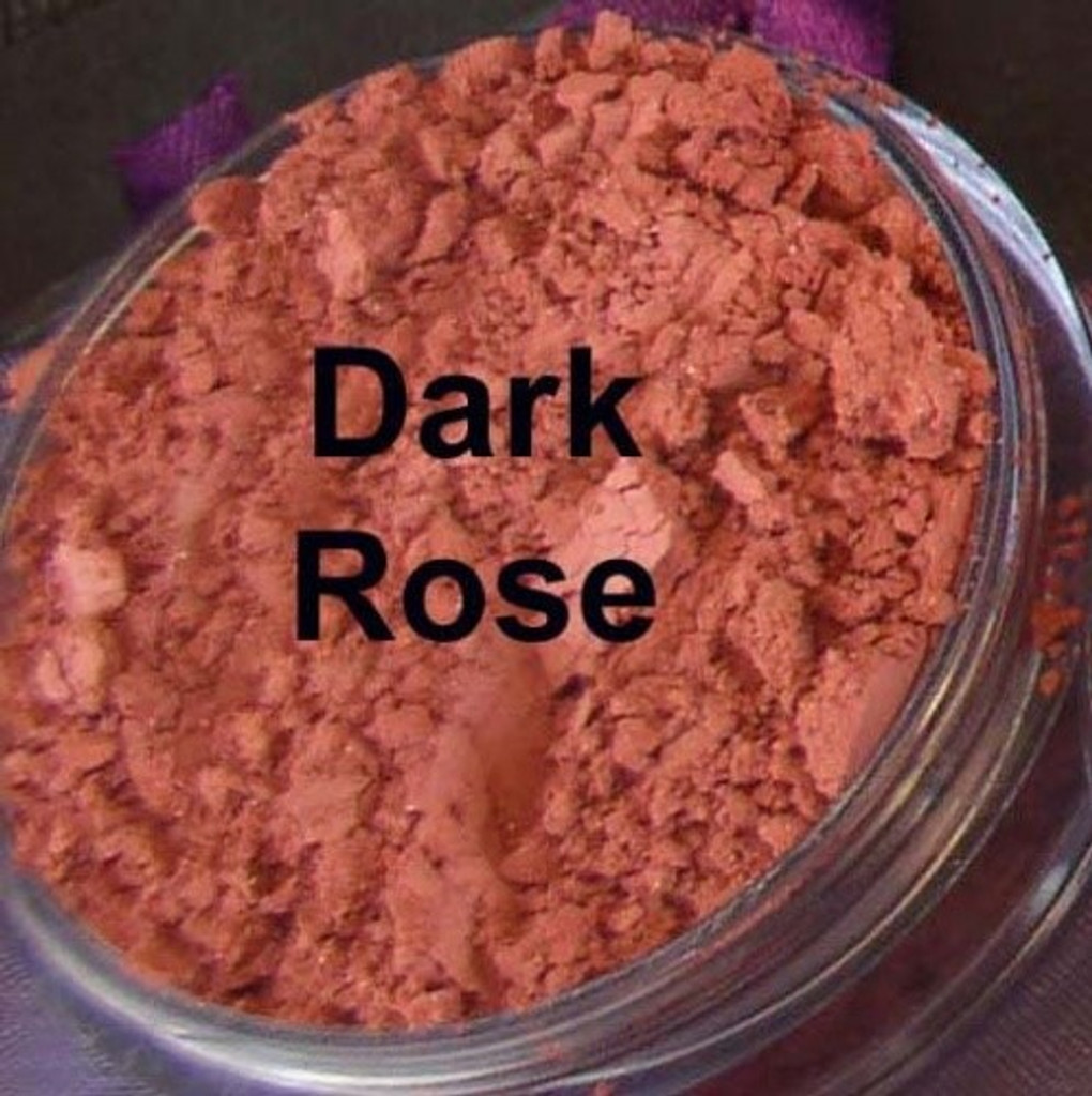 Vegan Matte Blush in Dark Rose