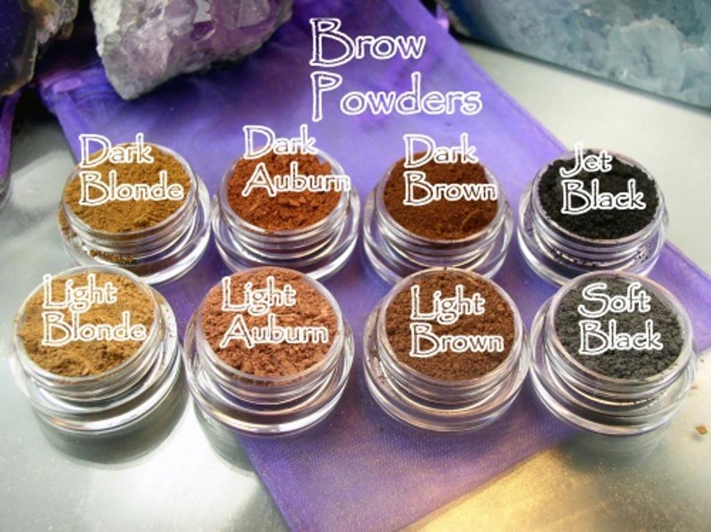 Vegan Brow Mineral Powders