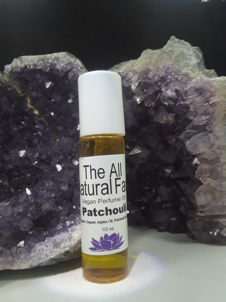 Vegan Perfume Oil in Patchouli