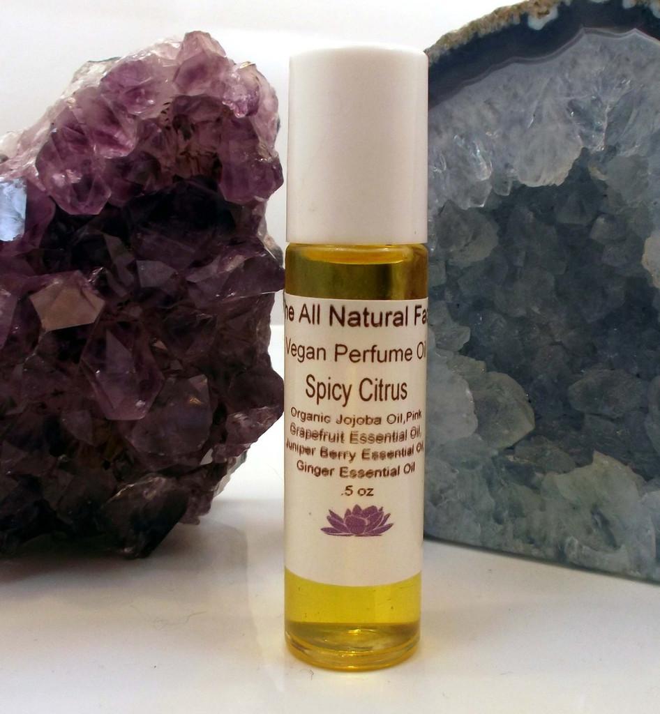 Vegan perfume Oil Spicy Citris