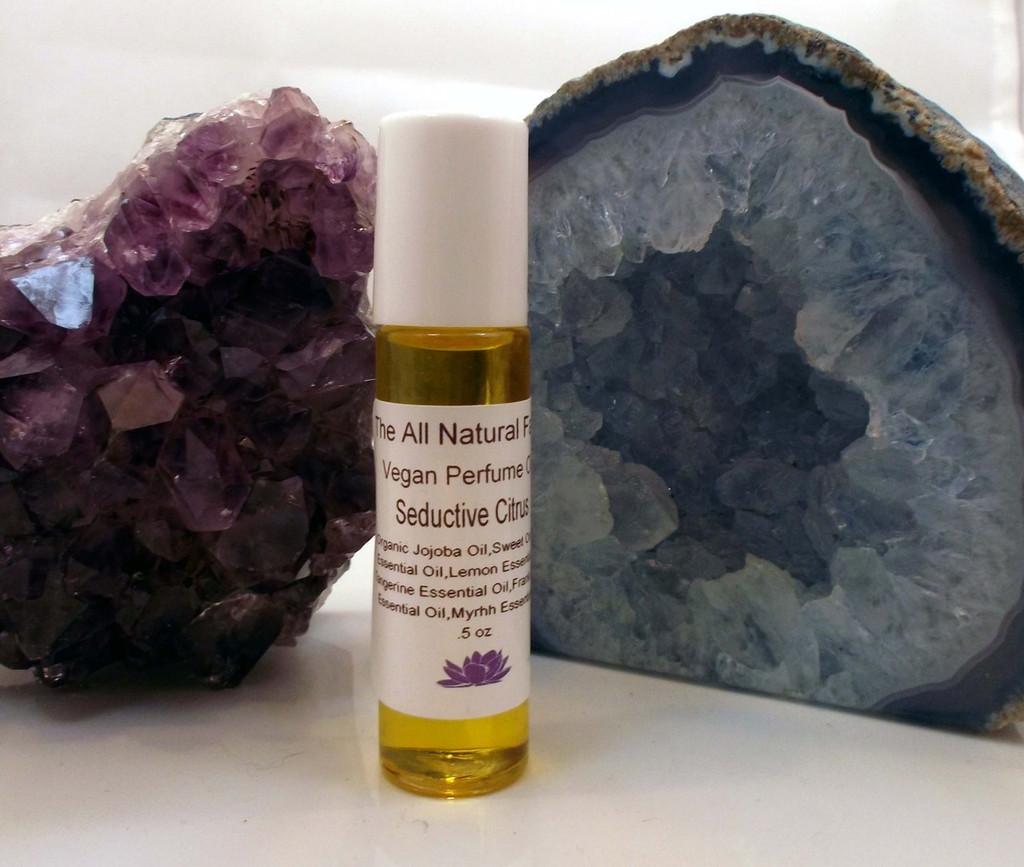 Vegan Perfume Oil Seductive Citris