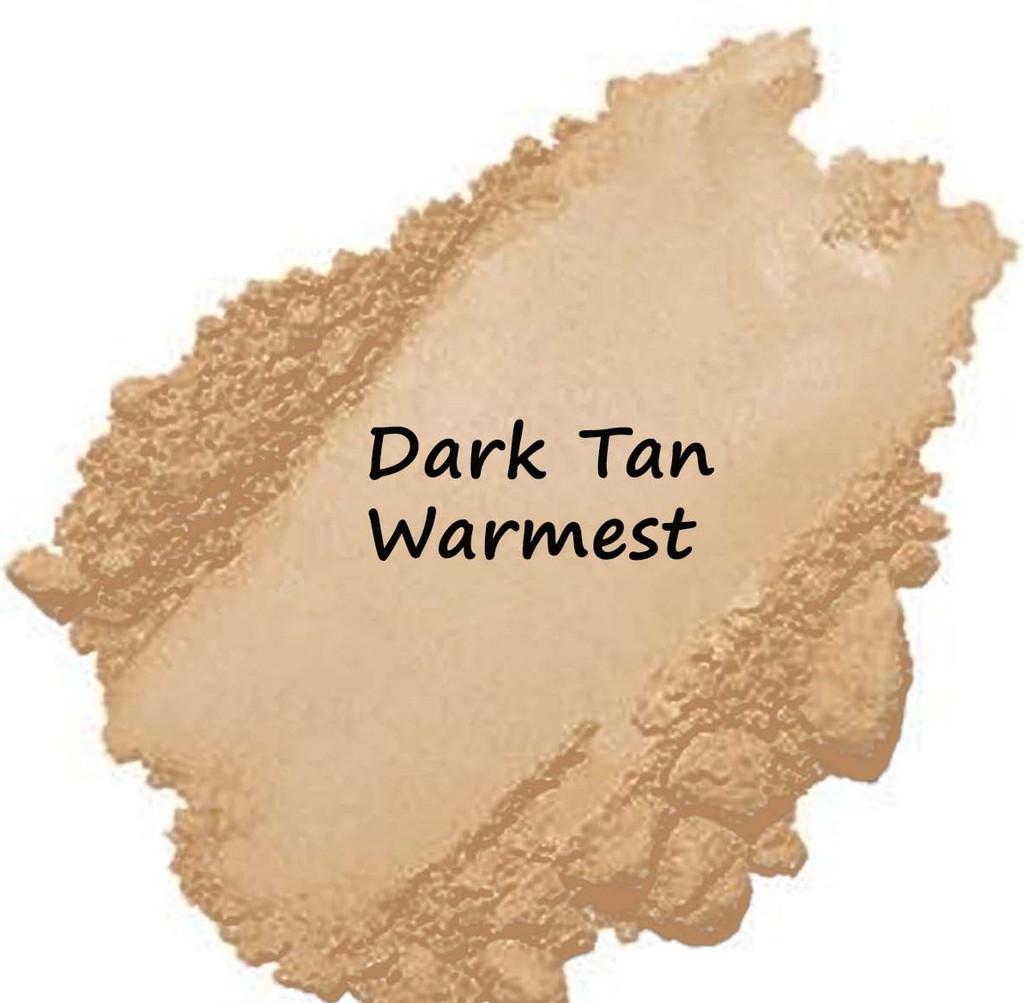 Cool Tne - Dark Tan Warmest Vegan Mineral Foundation