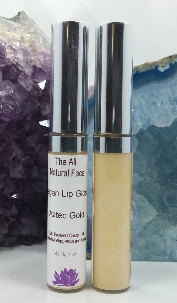 Aztec Gold Vegan Lip Gloss