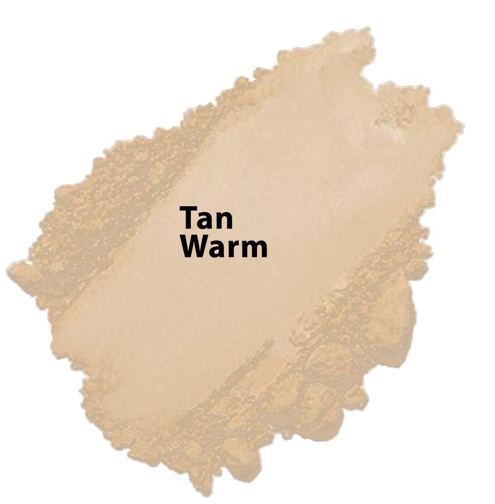 Cool Tone - Tan Warm Vegan Mineral Foundation
