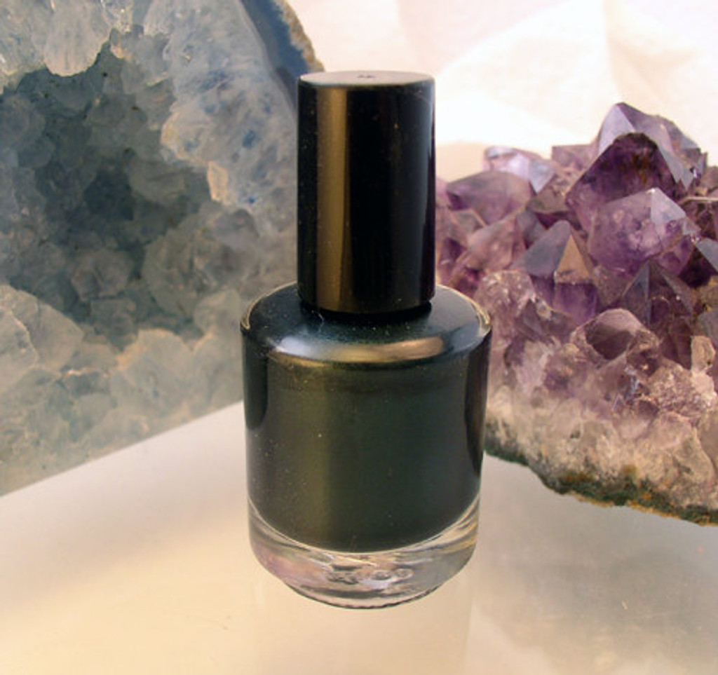 Midnight Green Nail Polish