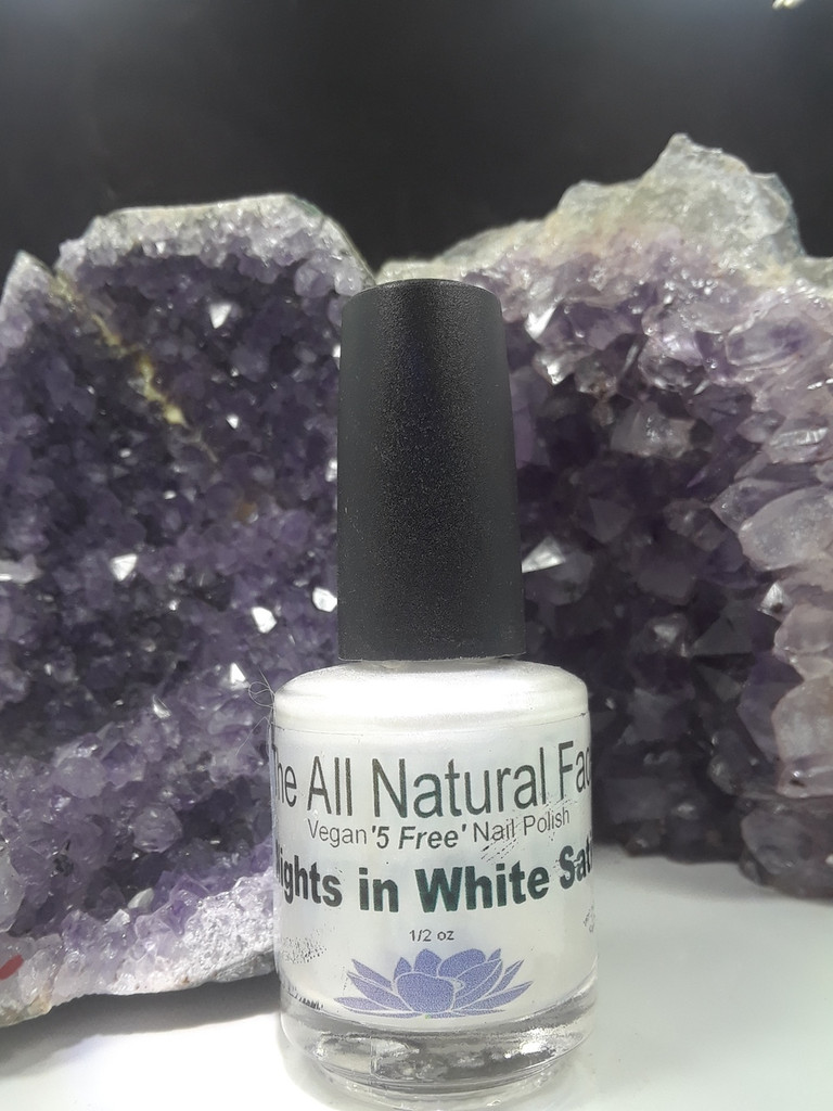 Nights in White Satin Nail Polish
