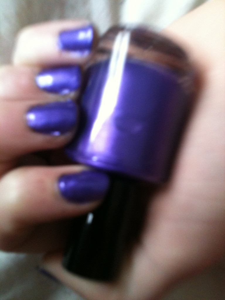 Screaming Purple Nail Polish