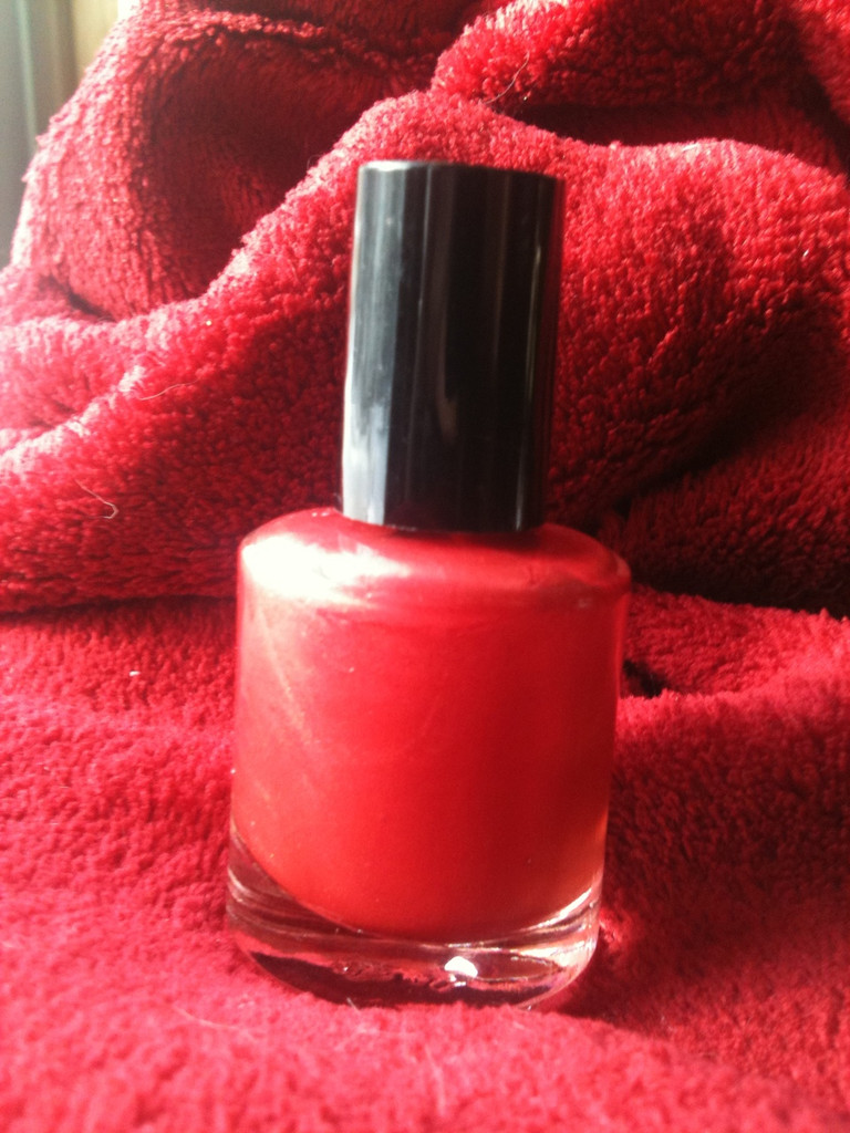 Glazed Strawberries Nail Polish