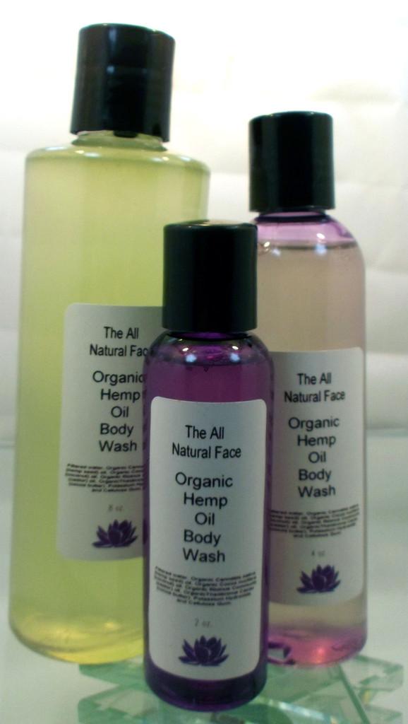 Hemp Oil Liquid Body Wash