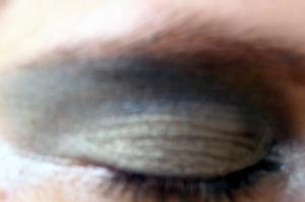 Pressed Vegan Mineral Eyeshadow - Green Gold