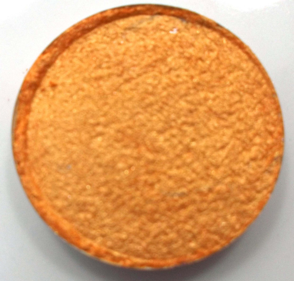 Pressed Vegan Mineral Eyeshadow - Sunflower