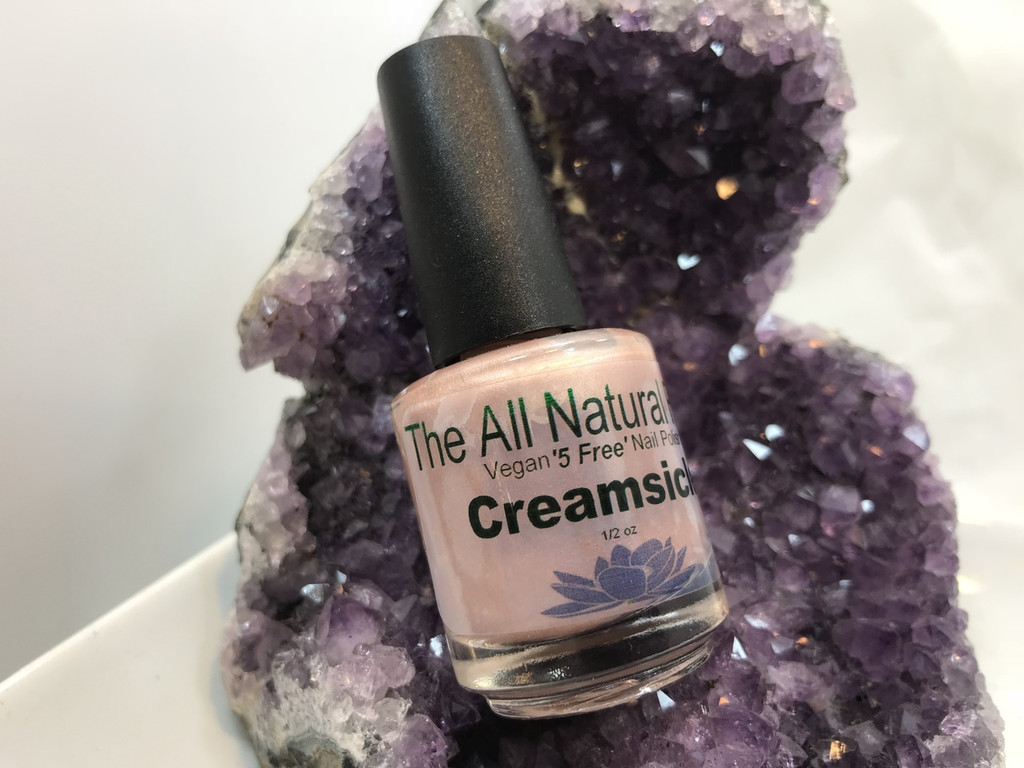 Creamsicle Nail Polish