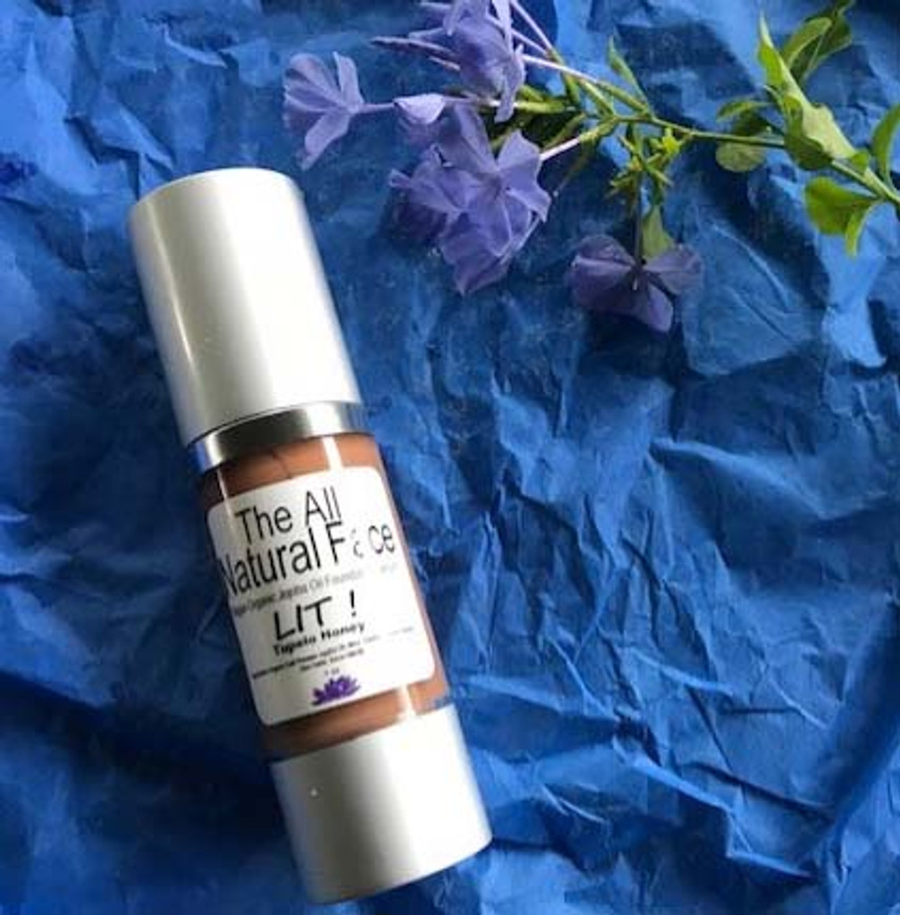 LIT- Vegan Organic Jojoba Oil Foundation Serum
