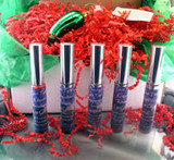 Vegan Holiday Gift Box 5 Vegan Lip Glosses AND a special Christmas Pickle Glass Ornament with the story of the Christmas Pickle to cherish for years
