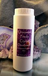 Powder Crystal Deodorant Unscented