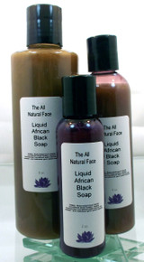 Liquid African Black Soap