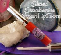 Glazed Strawberries Lip Gloss