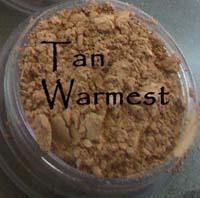 Cool Tone - Tan Warmest Vegan Mineral Foundation