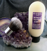 Sunless Tanning Lotion With Brush